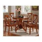 DMI Furniture, Inc. -  Home Styles Round Dining Table w/Pedestal Base - Round - 4 Legs - 42 x 30.0 - Hardwood 0095385752248