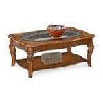 DMI Furniture, Inc. -  Cordoba Coffee Table in Burnished Pine 0095385758110
