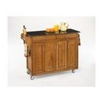 DMI Furniture, Inc. -  Home Styles Furniture Create-a-Cart Cottage OakFinish Black Granite Top Kitchen Island 0095385758325
