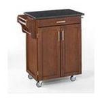 DMI Furniture, Inc. -  Cuisine Cherry Finish Black Granite Top Cart 0095385766757
