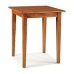 DMI Furniture, Inc. -  Home Styles Arts and Crafts Counter Height Dining/Pub Table - Square - Wood - Oak 0095385787103