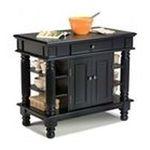 DMI Furniture, Inc. -  Ebony Kitchen Island 0095385791070
