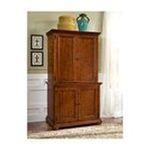 DMI Furniture, Inc. -  Home Styles Distressed Warm Oak Desk and Hutch Combo 0095385796471