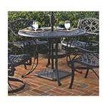 DMI Furniture, Inc. -  Home Styles 48 Outdoor Table - Round - 4 Legs - 48 x 29.0 - Aluminum, Cast Aluminum - Black 0095385798260