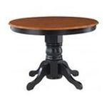 DMI Furniture, Inc. -  Home Styles Round Pedestal Dining Table - Round - 4 Legs - 42 x 30.0 - Hardwood - Black Base 0095385798369