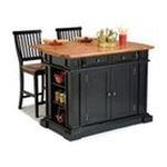 DMI Furniture, Inc. -  Kitchen Island & Two Stools 0095385798994
