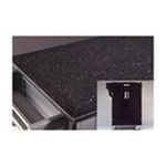 DMI Furniture, Inc. -  Create-a-Cart Small Kitchen Cart in Black with Granite Top 0095385799472