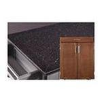 DMI Furniture, Inc. -  Create-a-Cart Small Kitchen Cart in Cherry with Granite Top 0095385799533