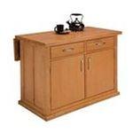 DMI Furniture, Inc. -  Central Park Kitchen Island in Natural Autumn Blush 0095385805005