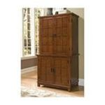 DMI Furniture, Inc. -  Home Styles Cottage Oak Arts and Crafts Compact Desk and Hutch 0095385805159