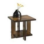 DMI Furniture, Inc. -  Geo Side Table in Walnut 0095385805791