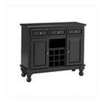 DMI Furniture, Inc. -  Premium Buffet with Wood Top in Black 0095385806507