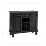 DMI Furniture, Inc. -  Premium Buffet with Black Granite Top in Black 0095385806569