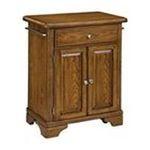 DMI Furniture, Inc. -  Premium Oak Cuisine Cart with Wood Top 0095385807061