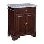 DMI Furniture, Inc. -  Home Styles Premium Cherry with Grey Granite Top Cuisine Cart 0095385807139