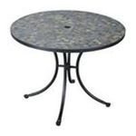 DMI Furniture, Inc. -  Stone Harbor Outdoor Dining Table in Black 0095385810276