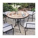 DMI Furniture, Inc. -  Valencia Outdoor Dining Table in Black 0095385810290