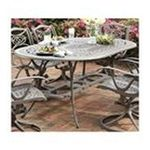DMI Furniture, Inc. -  Home Styles Oval Outdoor Dining Table - Oval - 4 Legs - 72 x 42 x 28.5 - Cast Aluminum - Antique Taupe 0095385810979