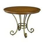 DMI Furniture, Inc. -  St. Ives Round Dining Table in Cinnamon Cherry 0095385812584