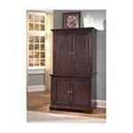 DMI Furniture, Inc. -  Windsor Compact Computer Desk and Hutch in Windsor Cherry 0095385814458