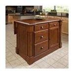 DMI Furniture, Inc. -  Home Styles Aspen Rustic Cherry Kitchen Island 0095385817015