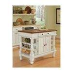 DMI Furniture, Inc. -  Americana Antiqued White Kitchen Island 0095385817190