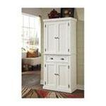 DMI Furniture, Inc. -  Hardwood Nantucket Kitchen Storage Pantry Cabinet White 0095385822781