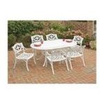 DMI Furniture, Inc. -  Home Styles 5552-338 Biscayne 7PC Dining Set 72 in. Oval Table with Six Arm Chairs 0095385824242