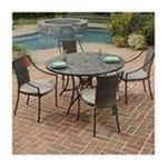 DMI Furniture, Inc. -  Stone Harbor 5 Piece Dining Set with Laguna Arm Chairs 0095385824457