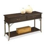 DMI Furniture, Inc. -  Home Styles Console Table - Rectangle - 4 Legs - 2 Drawers - 47 x 16 x 28.0 - Birch, Veneer, Metal - Espresso 0095385830434