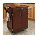 DMI Furniture, Inc. -  Home Styles Cherry Finish Oak Top Cuisine Cart 0095385838751