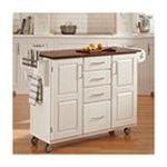 DMI Furniture, Inc. -  Home Styles Create-a-Cart White Finish Cart 0095385838881