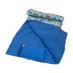 Wildkin -  Olive Kids Collection Trains Planes And Trucks Sleeping Bag 0097277170796