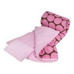 "Wildkin -  Wildkin | Wildkin Big Dots - Pink Sleeping Bag (66 X 30"") 0097277170857"