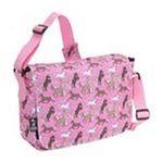 Wildkin -  Wildkin Horses in Pink Kickstart Messenger Bag 0097277410205