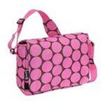 Wildkin -  Wildkin Big Dots Pink Kickstart Messenger Bag 0097277410854