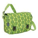 Wildkin -  Wildkin Big Dots Green Jumpstart Messenger Bag 0097277540865