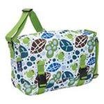 Wildkin -  Wildkin Lily Frogs Jumpstart Messenger Bag 0097277541176
