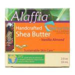 Alaffia - Handcrafted Shea Butter Vanilla Almond Cream 0187132001850  / UPC 187132001850