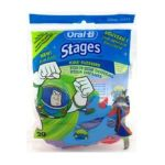 Oral-B - Stages Kids Flossers Disney Characters Rotating 20 flossers 0300416642710  / UPC 300416642710