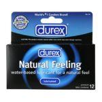Durex -  Premium Latex Condoms 12 condoms 0302340055000