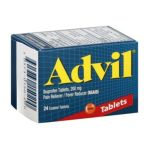 Advil - Pain Reliever Fever Reducer Coated Tablets 200 mg,24 count 0305730150200  / UPC 305730150200