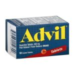 Advil - Pain Reliever Fever Reducer 200 mg,50 count 0305730150309  / UPC 305730150309