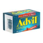 Advil - Pain Reliever Fever Reducer Tablets 200 mg,1 count 0305730150453  / UPC 305730150453