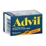 Advil - Pain Reliever & Fever Reducer Coated Caplets,50 count 0305730160308  / UPC 305730160308