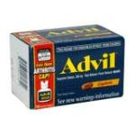 Advil - Advanced Medicine For Pain And Fever Reducer Ibuprofen Caplets 200 Mg,150 count 0305730161350  / UPC 305730161350