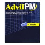 Advil - Pain Reliever Nighttime Sleep-aid 4 caplets 0305730164054  / UPC 305730164054