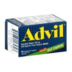 Advil - Advanced Medicine For Pain And Fever Reducer Ibuprofen Gel Caplets 200 Mg,1 count 0305730165303  / UPC 305730165303