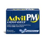 Advil - Pain Reliever Nighttime Sleep-aid 32 0305730167208  / UPC 305730167208