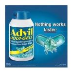 Advil - Liquid Gels 0305730169233  / UPC 305730169233